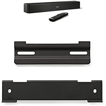 Bose solo 5 sound system with bose wall mount for Yamaha yas 107bl sound bar