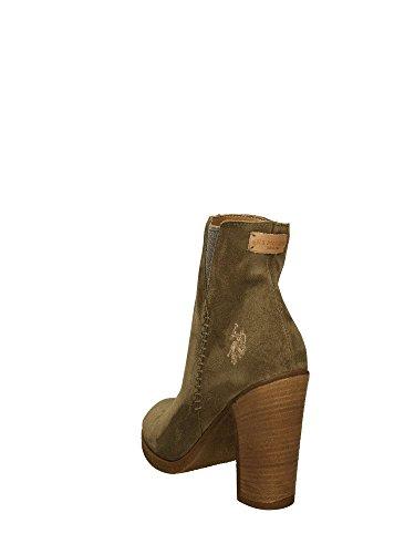 Polo Vert Femme Bottes U s Assn Schakira wx5C5fq7