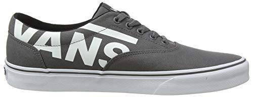 Logo Doheny Grigio Eu big Vans Pewter Vf4 Uomo Sneaker white 6f1Opq