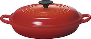 Le Creuset Enameled Cast-Iron 2-1/4-Quart Buffet Casserole, Red
