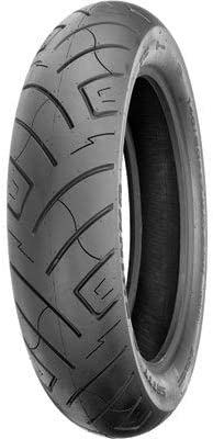 61H Front Motorcycle Tire Black Wall for Harley-Davidson Sportster 1200 Roadster XL1200R 2005-2008 Shinko 777 H.D 100//90-19