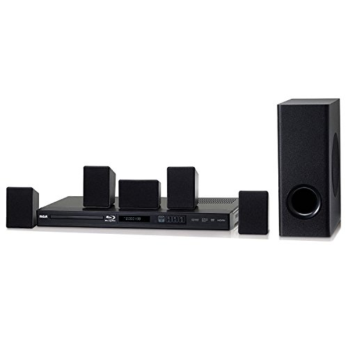 Refurbished Rca 100 Watt Home Theater System W/ Blue Ray Player-Rtb10230E(Certified Refurbished) by RCA