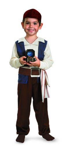 Jack Sparrow Toddler Costume - Small (2T) (Jack Sparrow Boys Costume)