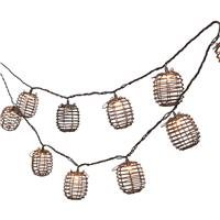 Bamboo Patio Lights String in US - 5