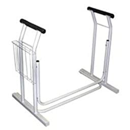 Jobar International Toilet Safety Frame And Support - Jb4349
