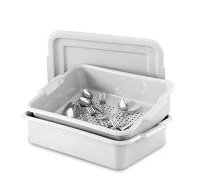 Box Perforated Drain, Gray, 20 X 15-6 Per Case