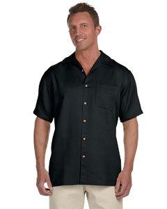 Harriton Men's Bahama Cord Camp Shirt - Medium - ()