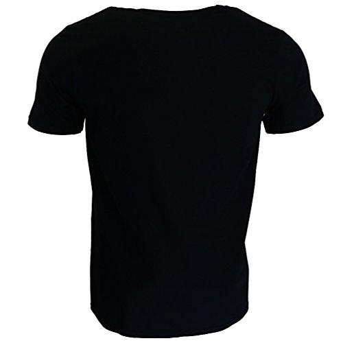 Ramones First World Tour 1978 T-shirt Schwarz Offiziell Zugelassen Musik