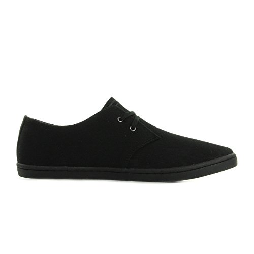 Fred Perry Byron Low Twill Black B8233220, Turnschuhe