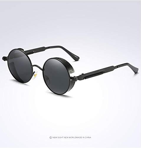 Las De Vidrios De Opcionales Los Hombres Protección blackframegray Ciclo Polarizaron Sol Goldframepowder UV400 Los Ultravioleta Gafas De qwEnF0n7