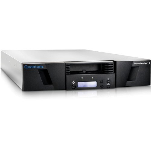Quantum SuperLoader 3, Model C, One LTO-4HH Tape Drive, 16 slots, 3Gb/s SAS
