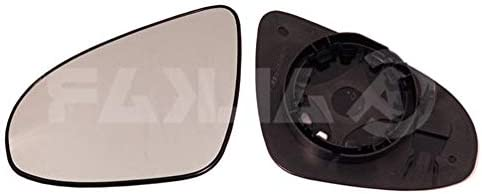 With Holder Aftermarket 388-PGG168-12744 Left Passenger Side Wing Mirror Glass Not Heated