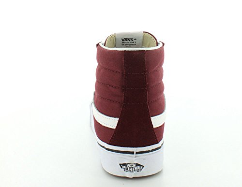 Sneaker Reissue Vintage Vans Unisex Vintage Sk8-hi Rosso