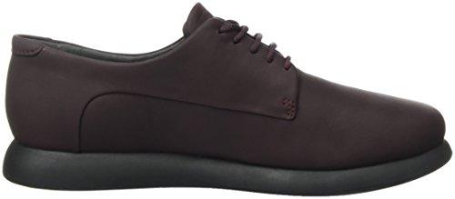 Camper Monday, Zapatos Para Mujer Rojo (Dark Red 001)