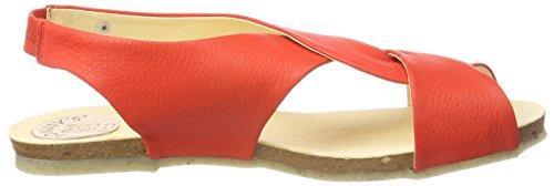 sandali rossi aperti 009 geranio Bea Jonny's qORvZR