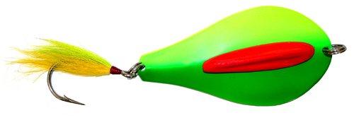Tony Maja Custom Bunker Spoons #2 Lollipop Bunker/Butterfish (Chartruese/Green)