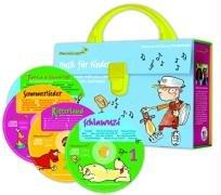 Sommerlieder-Koffer. 4 CDs: Musik für Kinder