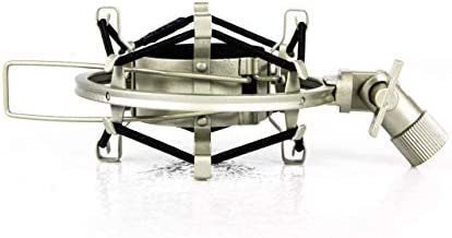 MXL Silver Shock Mount, compatible with Neumann TLM 103 Microphone