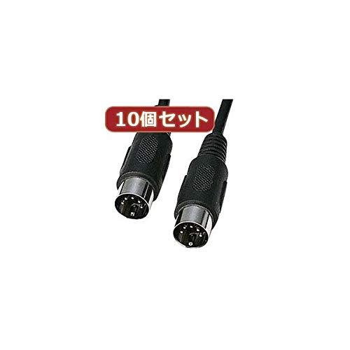 10個セットサンワサプライ MIDIケーブル(3.6m) KB-MID01-36X10 AV デジモノ パソコン 周辺機器 ケーブル ケーブルカバー その他のケーブル ケーブルカバー 14067381 [並行輸入品] B07P2M93H7