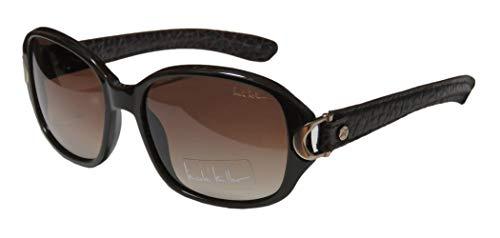 Nicole Miller Trinity Sunglasses - Frame Brown/Brown ()