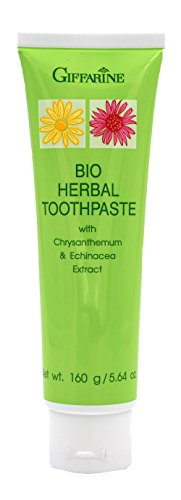 Echinacea Herbal Toothpaste (Giffarine Bio Herbal Toothpaste With Chrysabthemum Echinacea Extract & Stay-C 50)