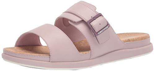 CLARKS Women's Step June Tide Sandal Dusty Pink Synthetic 120 M US