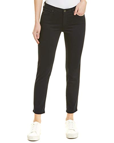 (AG Adriano Goldschmied Women's Prima Crop Mid-Rise Cigarette Leg in New Navy New Navy Jeans)
