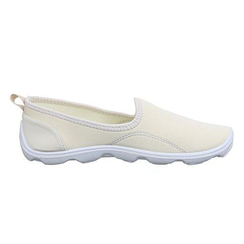 Ital-Design - Zapatos Mujer Beige