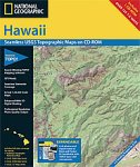 National Geographic TOPO! Hawaii Map CD-ROM (Windows)