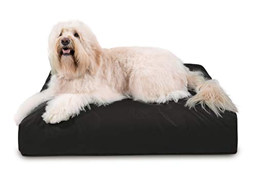 K9 Ballistics Tough Rectangle Nesting Large Dog Bed- Washable, Durable and Waterproof Dog Bed - Made for Big Dogs, 34