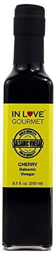 Cherry Balsamic Vinegar 8.5 fl. oz. (250 ml) by In Love Gourmet