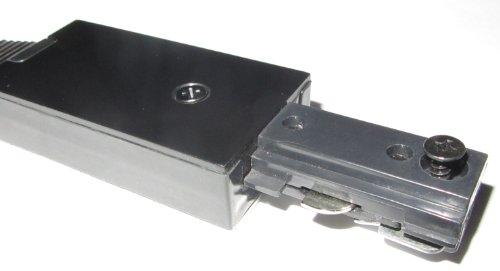 H Type Black Track Lighting Flex Connector Halo Flexible Joint 90 Degre