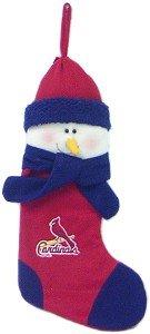 St. Louis Cardinals Snowman Stocking
