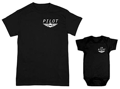 Pilot/Co-Pilot 2-Pack Bodysuit & Men