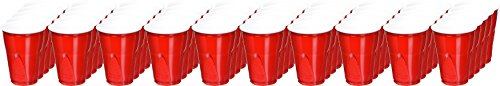 Pactiv, RFPC20950, Reynolds Easy Grip Disposable Party Cups, 50 / Pack, Red, 9 fl oz
