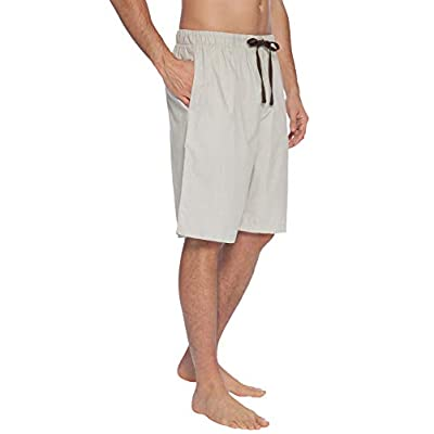 INTIMO Mens' Soft Bamboo Jam Sleep Shorts at  Men's Clothing store