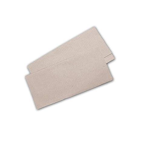 Toallas de papel natural, 25 x 23 cm, reciclado ZZ veces, 10.000 unidades