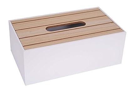 Legno Bianco Vintage : In legno shabby chic per fazzoletti scatola vintage di porta