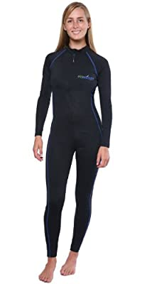 Women One Piece Full Body Sun Protective Swim Stinger Suit Dive Skin UPF50+