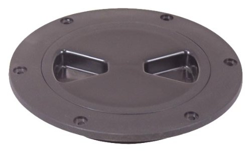 Tempress Products Inc 43035 Marine Screw-Out 4'' Black Deck Plate by Tempress