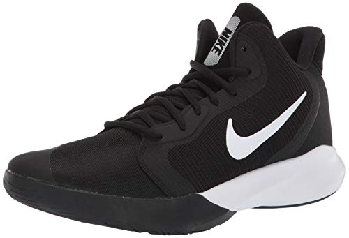 Nike Precision III Basketball Shoe Black/White 9.5 Regular US
