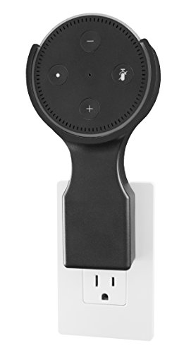 This Dottie - Plug-in Mount - Amazon Echo Dot 2nd Generation Accessory (Black) - Designed, Engineered, Tested, and Assembled in the USA