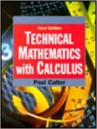 technical mathematics with calculus pdf