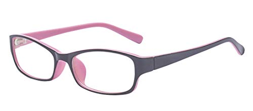 Outray Kids Retro Rectangle Clear Lens Glasses for Girls ()