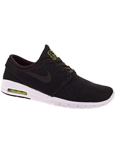 Nike Stefan Janoski Max L, Zapatillas de Skateboarding Para Niños Black/Black/Cyber/White