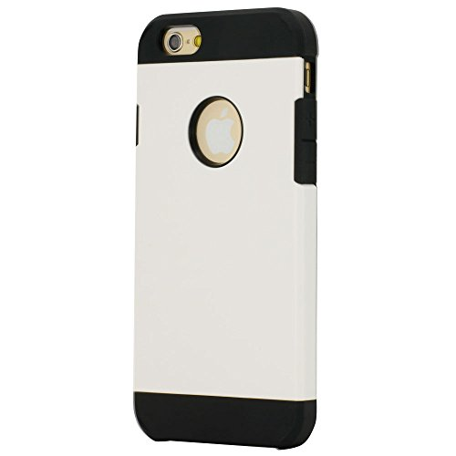 N72- TPU Backcover für Apple iPhone 6 ( 4,7 Zoll ) Bumper Schutzhülle in Weiß