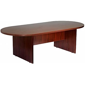 Awesome Boss 95 By 43 Inch Conference Table, Mahogany
