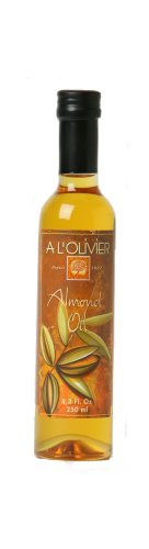 L'Olivier Almond Oil, 8.3-Ounce Bottles (Pack of 2)