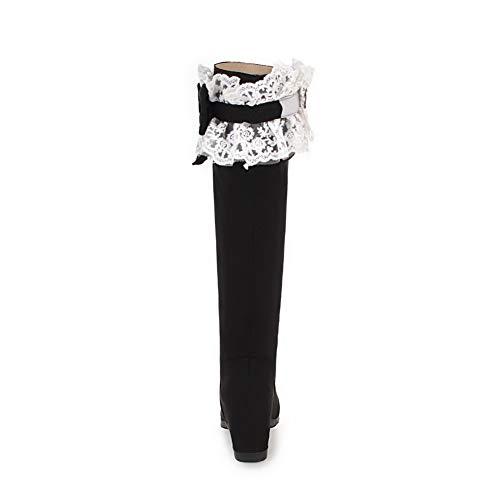 Balamasa Sandales Femme Abl11432 Compensées Noir 66rOqFx4w