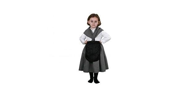 Disfraz de castañera infantil - Talla - 5-6 años: Amazon.es ...